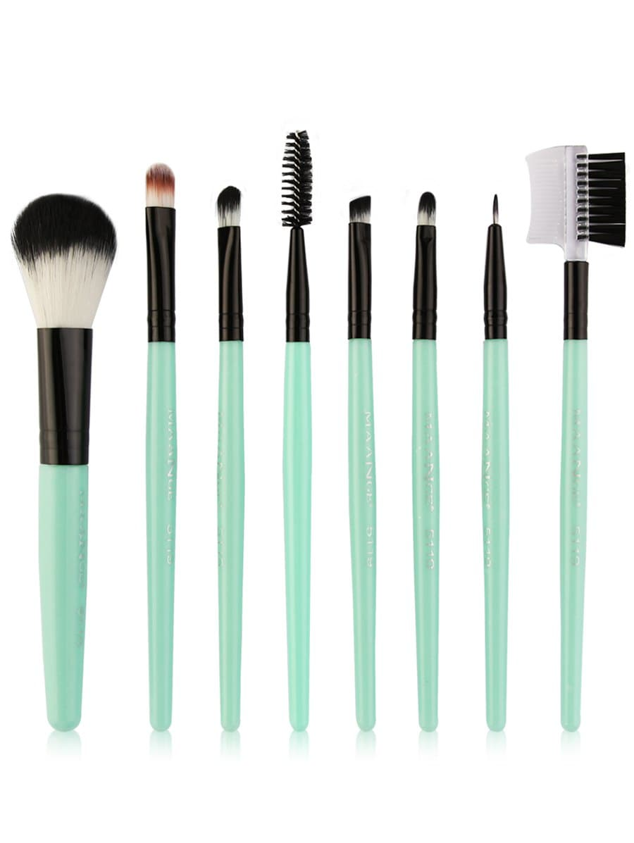 8Pcs Multifunctional Eye Makeup Brushes Set