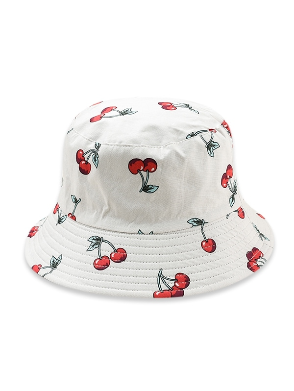 Fruit Pattern Bucket Hat