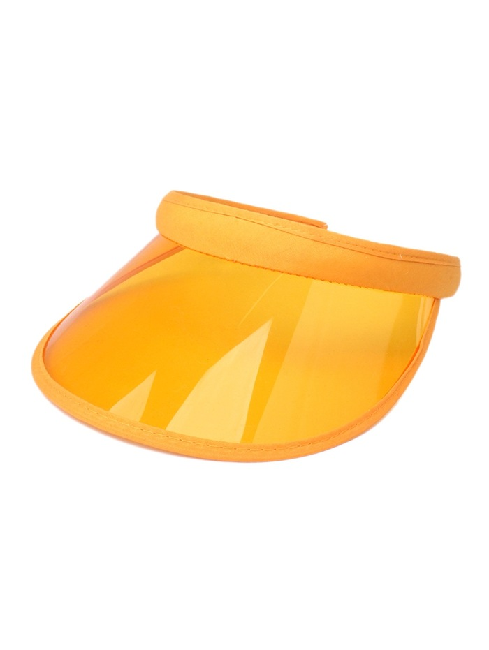 Candy Color Transparent Visor Cap