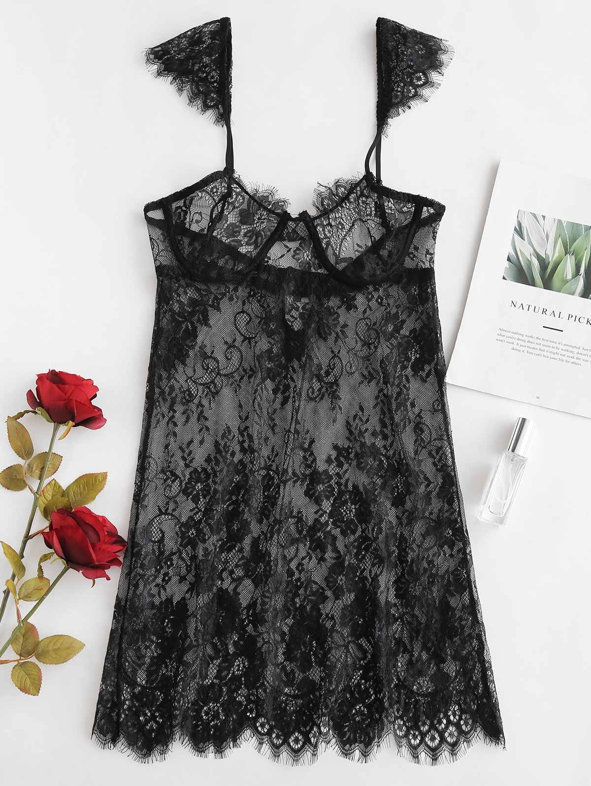Underwire Lace Babydoll