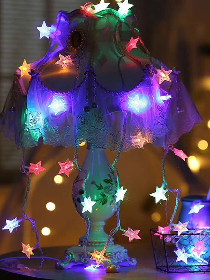5 Meters USB Star Shape LED String Lights