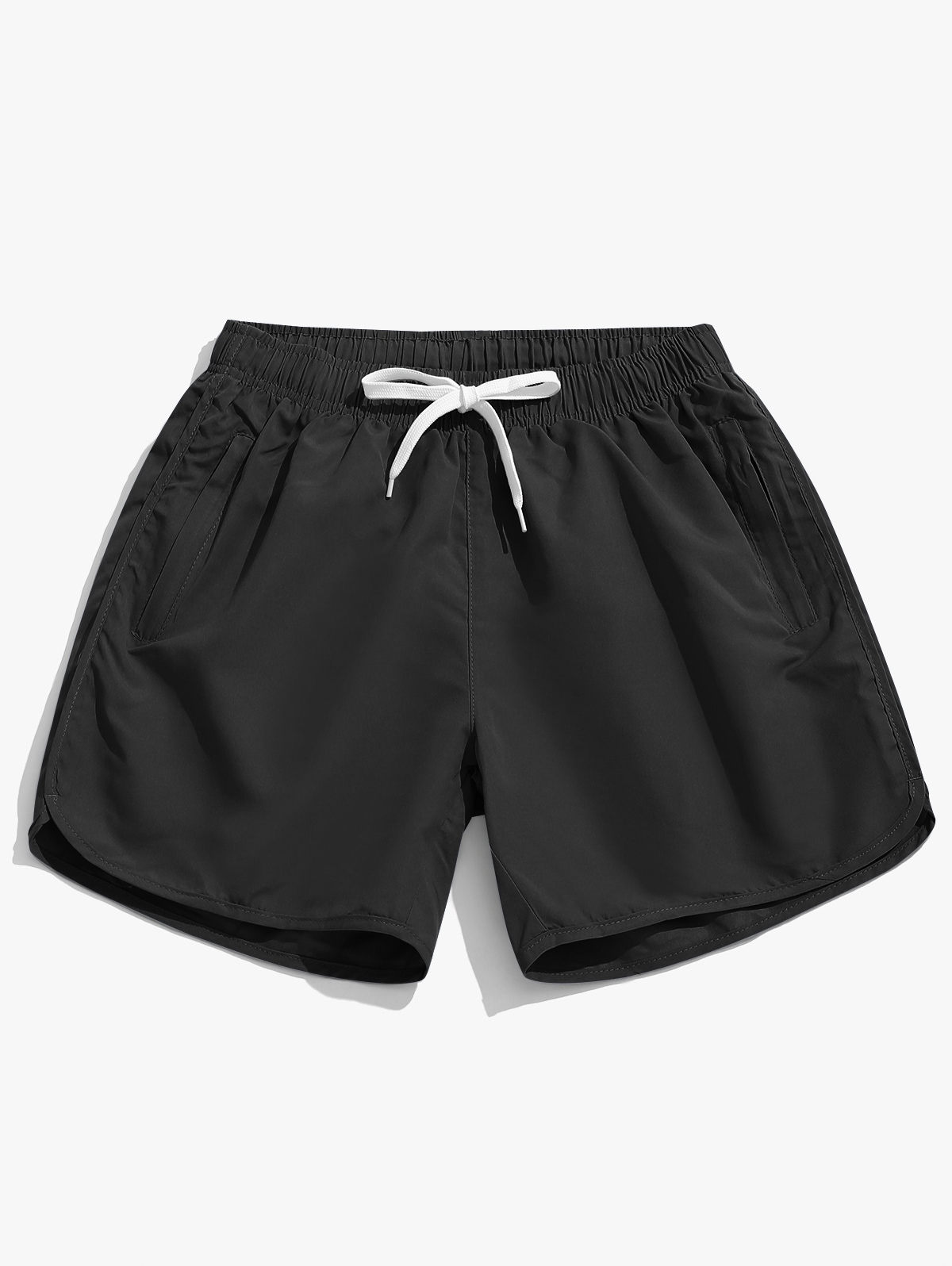 Solid Color Casual Swimming Shorts