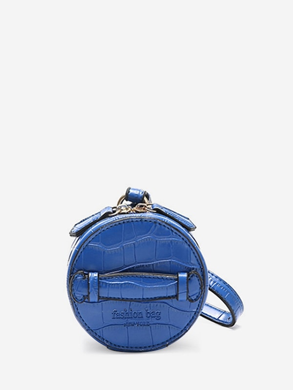Retro Mini Round Shoulder Bag