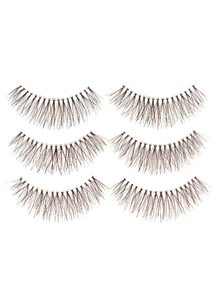 Fake Eyelashes with Glue