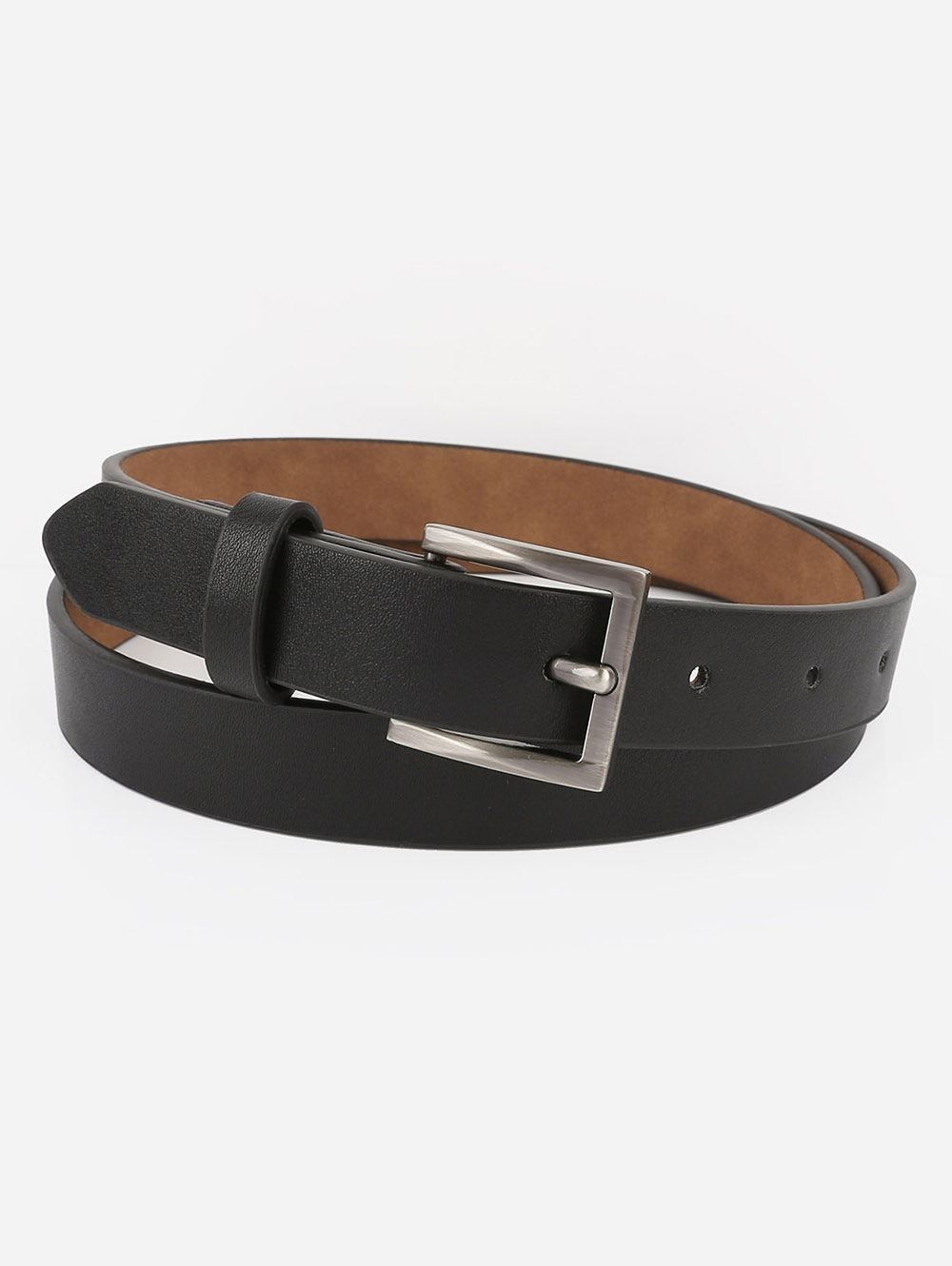 Casual Metal Buckle Artificial Leather Belt