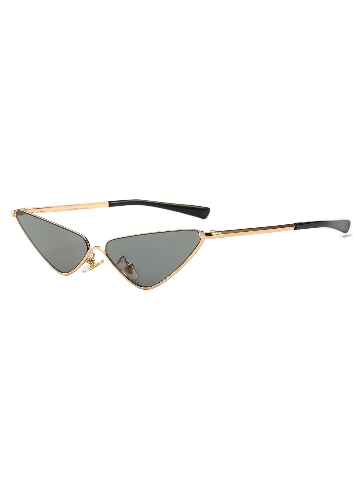 Retro Half Frame Catty Sunglasses
