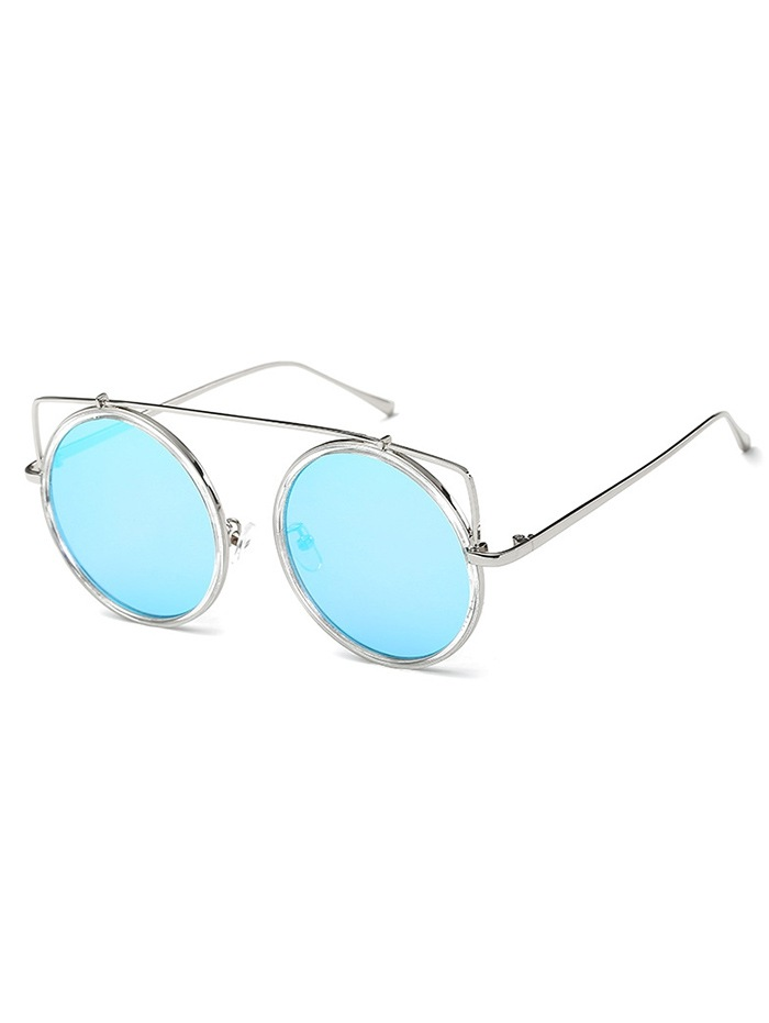 Vintage Bar Round Sunglasses