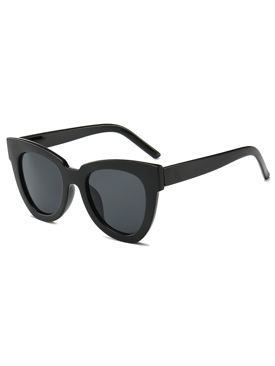 Wide Rim Irregular Sunglasses